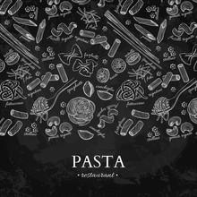 Italian Pasta Restaurant Vecto...