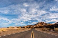 Highway In Death Valley Nation...