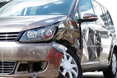 Fotografía  Unfallwagen, Autounfall