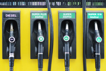 Zapfsäule An Einer Tankstelle