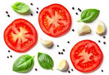 Tomato, Garlic And Basil