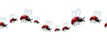 Ladybugs Decoration Line
