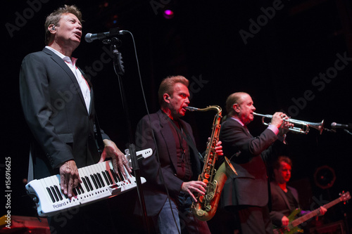 Keyboardist Lamm, saxophone player Parazaider, trumpeter