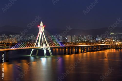Zdjęcie XXL Seoul skyline, Korea