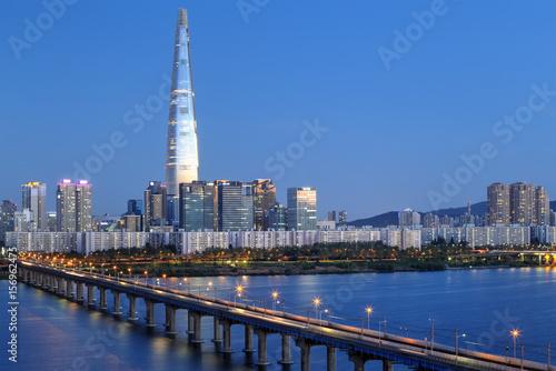 Seoul skyline, Korea