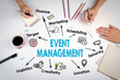 canvas print picture - Event management Concept. The meeting at the white office table.