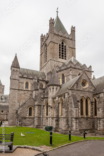 Photo  cathédrale Christ Church, Dublin, Irlande
