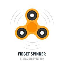 Fidget Spinner. Hand Spinner I...