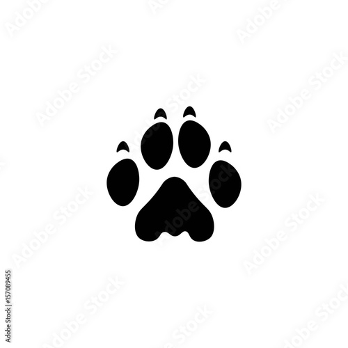 lion paw print buy this stock vector and explore similar vectors