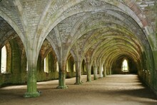 Fountains Abbey - Cellarium