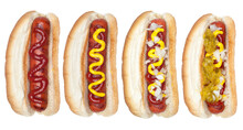 Collection Of Hotdogs