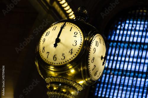 Photo Grand Central Station NY Famous Clock