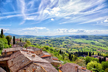 View Over The Tuscan Countrysi...