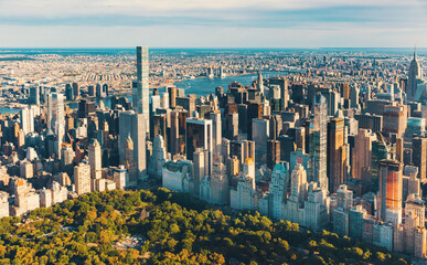 FototapetaAerial view of Central Park