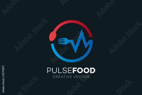 Circle Food Network Logo Buy This Stock Vector And Explore Similar