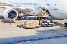 Loading Platform Of Air Freigh...