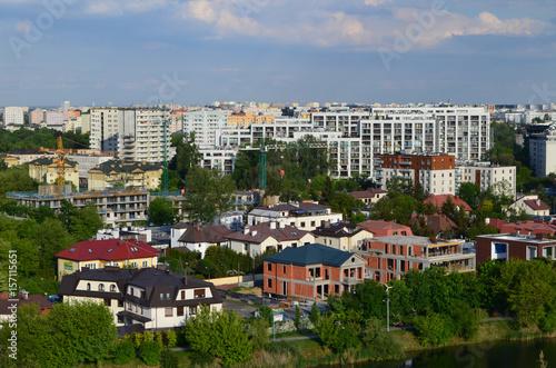 Photo Warszawa-osiedle mieszkaniowe na Ochocie/Warsaw-settlement in Ochota district, M