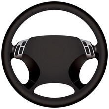 Modern Car Steering Wheel