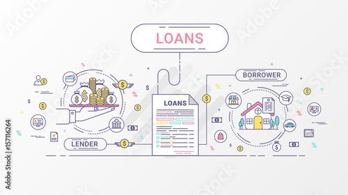 Fotografía  Loan Infographics