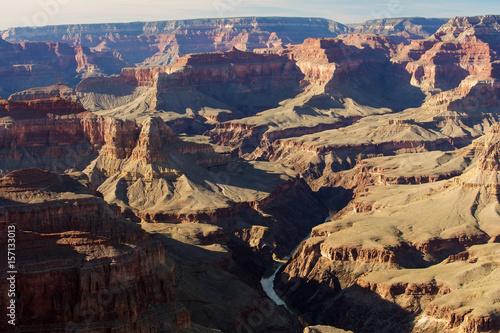 Tuinposter Canyon A view to Grand Canyon National Park, South Rim, Arizona, USA