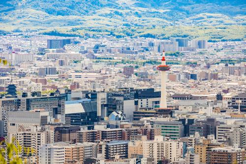 都市風景 - 京都駅周辺 - 京都、日本