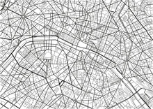 Black And White Vector City Ma...