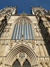 York Minster Window Above Main...