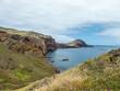 Wandern auf Madeira - Blick auf dei Steilküste