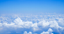 Blue Sky Above The Clouds