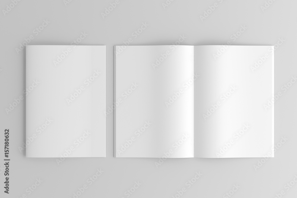 Fototapety, obrazy: A4 / A5 / A6 Brochure / Magazine / Book