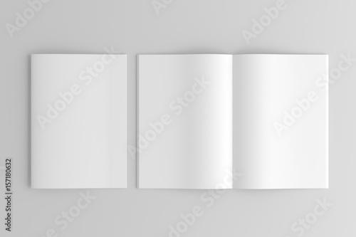 Fototapeta A4 / A5 / A6 Brochure / Magazine / Book obraz