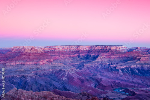 Poster Rose clair / pale Pink Grand Canyon