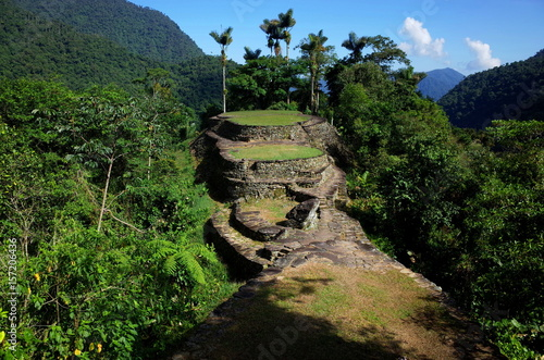 Cuadros en Lienzo  La Ciudad Perdida (the Lost City) in Colombia