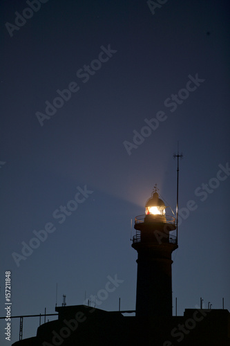 Autocollant pour porte Phare Lighthouse, Parque Natural Cabo de Gata y Nijar, Almeria, SPAIN