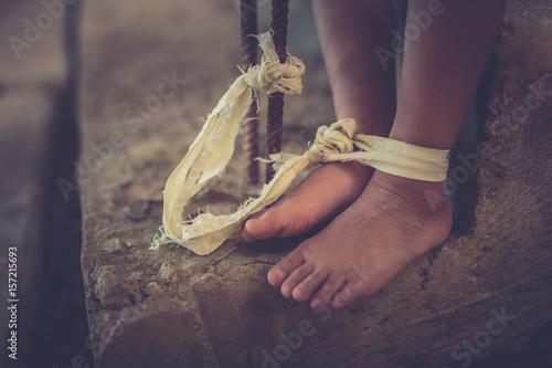 Fényképezés  Human trafficking ,Stop abusing violence,human trafficking