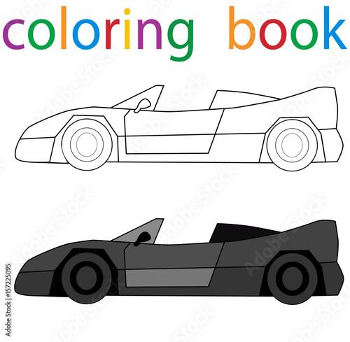 book coloring book for boys car – kaufen Sie diese Illustration und ...