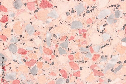 colorful terrazzo floor texture background