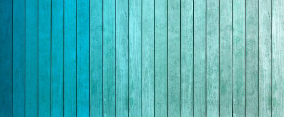 lamelles de bois dégradés de teintes bleu