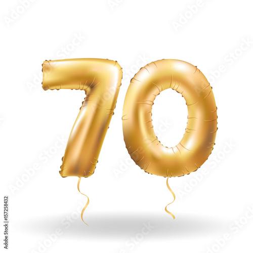 Photographie  number seventy metallic balloon