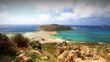 Balos beach on Crete, Greece