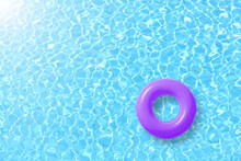 Purple Swimming Pool Ring Floa...