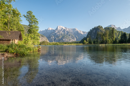 The Almsee lake in the austrian apls Wallpaper Mural