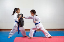 Two Little Girls Demonstrate M...