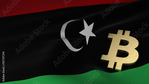 Bitcoin currency symbol on flag of libya buy this stock bitcoin currency symbol on flag of libya ccuart Choice Image