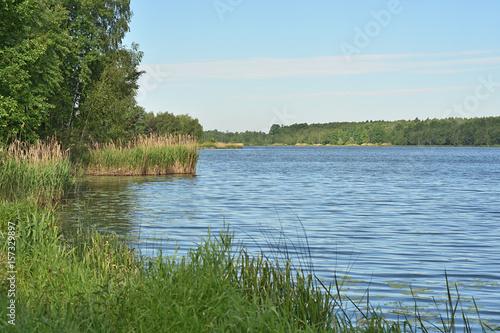 Spoed Foto op Canvas Scandinavië Jezioro Paprocany