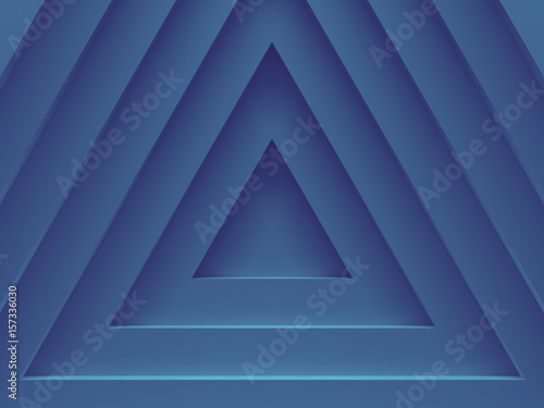 blue triangles abstract geometric background for material modern