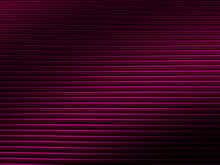 Abstract Lines Pink Pattern For Web Template Background, Brochure Cover Or App. Material Style. Geometric 3D Illustration.