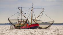 Dutch Shrimp Fishing Cutter Ve...