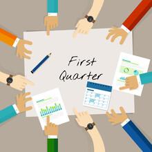 First Quarter Business Report ...