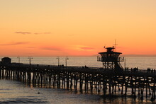 San Clemente Pier Sunset 3